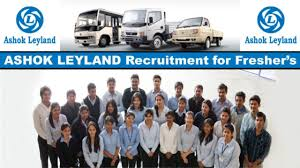 ashok leyland recruitment 2018 all over india 10th 12th p jobs