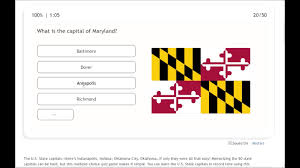 Seterra U.S. State Capitals Quiz ...