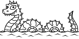 Small Picture Sea Monster Coloring Pages Syougitcom