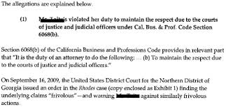 napa court state bar of california attorney complaint letter  more samples