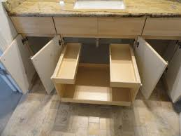 Pull Out Shelves for Your Bathroom Vanity traditional-bathroom