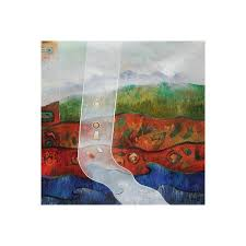 novica signed abstract fine art painting from peru 63 745 php liked on polyvore