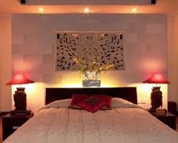bedroom corner red table lamp romantic decor for bedroom soft fluffy carpet blanket white bedside