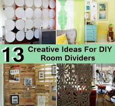 creative room partition ideas dividers for lofts