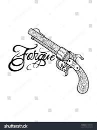 Stock Vektory Na Téma Ornate Tattoo Gun Bez Autorských Poplatků