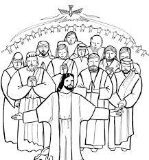 Saints Coloring Pages Printable Catholic Inside Saint Bitsliceme