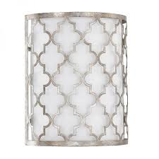 capital lighting model 4546as 566 ellis wall sconce light fixture antique silver frosted finish