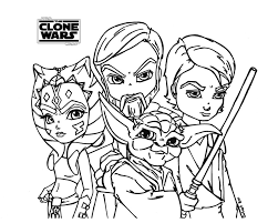 Star Wars The Clone Wars Drawing At Free For
