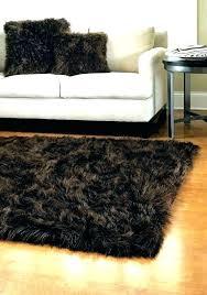 black fur carpet black faux fur carpet rug sheepskin to area furry rugs big fuzzy home