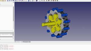 Freecad Gear Design Freecad Cycloidal Gearbox