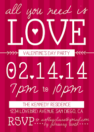 valentines party invitations cute valentines day party invitation valentines day fun