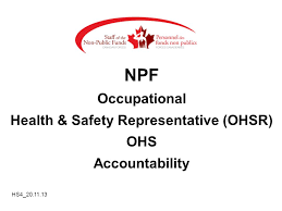 safety representitive health safety representative ohsr ppt download