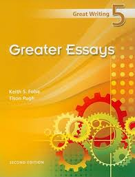 great writing greater essays book by keith s folse  great writing 5 greater essays folse keith s