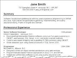 Resume Summary Best Quality Vintage Resume Summary Examples Sample Resume Template