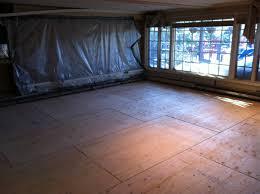 once the sub floor