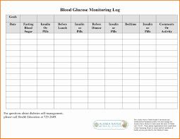 diabetes blood sugar logs fresh printable blood sugar chart anthonydeaton com