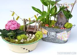 garden gift ideas how to make mini fairy garden gifts for mothers day teachers or friends garden gift