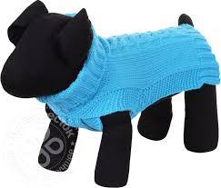 Купить <b>Свитер для собак Rukka</b> Wooly Knitwear голубой размер ...