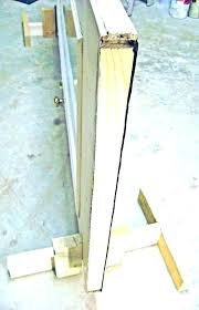 front door jamb repair rotted replace frame fixing pressure seal garage weather exterior jambs fron