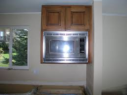 Kitchen Microwave Cabinet Microwave Cabinet Built In Designs For Kitchen Remodel Ideas