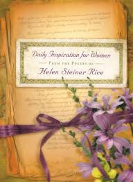 daily inspiration for women from the poetry of helen steiner rice