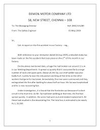 Technical Writing Incident Report Example Navigation Menu