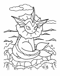 Pokemon Girl Scout Coloring Page