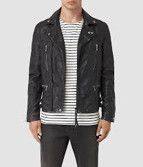 allsaints ario leather biker jacket