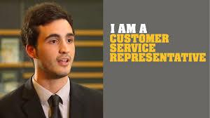 I Am A Customer Service Representative