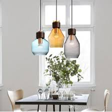 svitz kitchen interior lighting pendant light with glass cover grey blue amber pendant lamps led lights japanese stye luminaire bedroom pendant lights