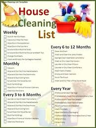 New Cleaning Kit Monthly List Bi Checklist Yakult Co
