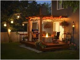 patio deck lighting ideas. Ideas For Outdoor Patio Lighting » Get Deck Home Design \