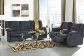 Reclining Living Room Set Buy Ashley Furniture Garek Blue Reclining Living Room Set
