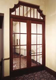 interior office door with glass window from tri city