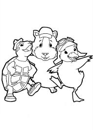 Small Picture How to Draw Wonder Pets Characters Coloring Page Coloring Sun
