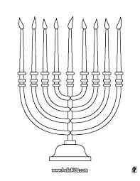 Coloring Pages Hanukkah Menorahs Get Coloring Pages