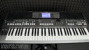 <b>Синтезатор YAMAHA PSR-S670</b> (обзор и демонстрация звуков ...