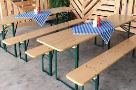 beer garden table. Ronen Rental\u0027s Beer Garden Set Table A