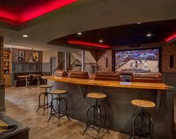 Fine Basement Sports Bar Ideas Finishing Sebring Services For Design Decorating