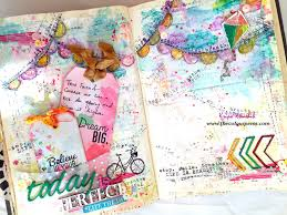 video hop with us giveaway art journal in my altered book