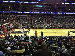 Capital One Arena Seating Chart Basketball Capital One Arena Section 121 Washington Wizards