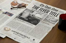 Newspaper Template Indesign Newspaper Template Indesign Graphic By Ted Creative Fabrica
