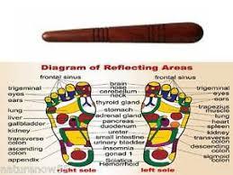 Thai Foot Reflexology Chart Details About Thai Asian Reflexology Health Foot Massage Wooden Stick Tool Chart