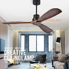 light wooden ceiling fans