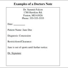 Doctor Note Template Free Doctors Word Literals React – Onbo Tenan
