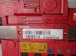 battery power distribution box w fuse bmw e72 e81 e82 e84 battery power distribution box w fuse bmw e72 e81 e82 e84