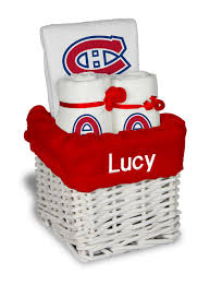 personalized montreal canans small gift basket