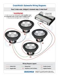 1 ohm subwoofer wiring diagrams 4 dual voice coil inside kicker l7 all 2 ohm subwoofer wiring diagram