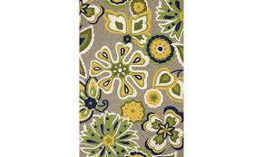 atrium bohemian apple green area rug