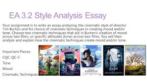 lesson essays and scissorhands establish objective for ea  ea 3 2 style analysis essay your assignment is to write an essay analyzing the cinematic style
